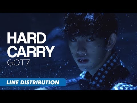 GOT7 (갓세븐) - Hard Carry (하드캐리) | Line Distribution