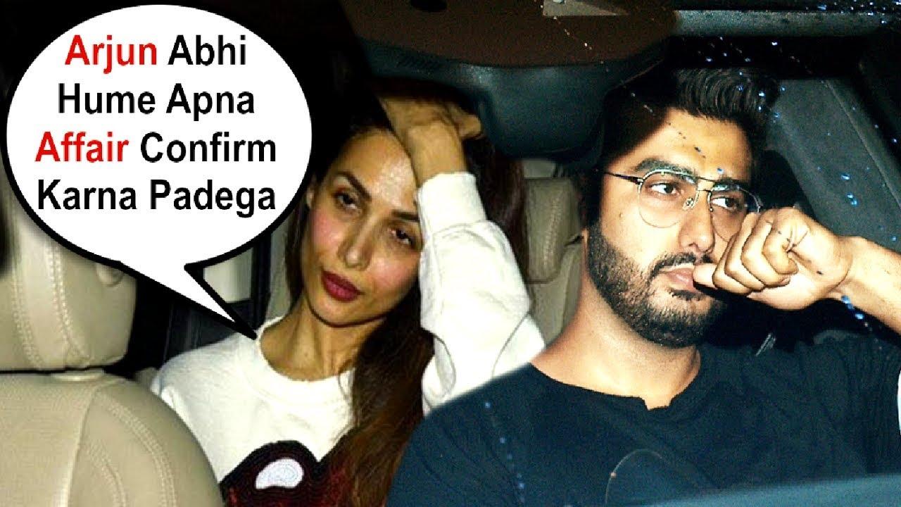 Arjun Kapoor And Malaika Arora Khan Together At Dhadak Screening