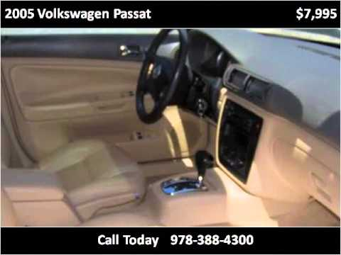 2005 Volkswagen Passat Used Cars Amesbury MA