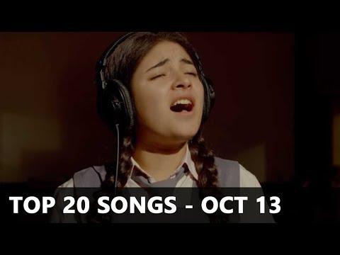 Top 20 Bollywood Songs of the Week (Radio Mirchi Charts) - October 13, 2017