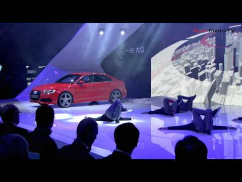ixautotvchannel - Audi Press Conference Shanghai Auto Show 2013