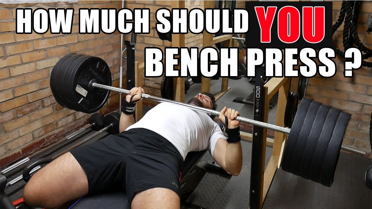 WHAT SHOULD THE AVERAGE PERSON BE ABLE TO BENCH PRESS? - YouTube