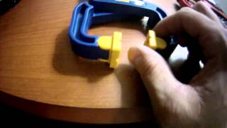 Milwaukee 2 in. Plus Stop Lock Hand Clamp First Look & Review Part 1