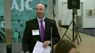 American Jewish Committee Cleveland President at Interfaith Seder