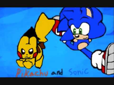 Sonic Amp Pikachu Together Forever Youtube