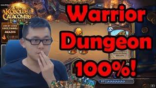 Warrior Dungeon Run Super Strong Deck (KnC, Hearthstone)