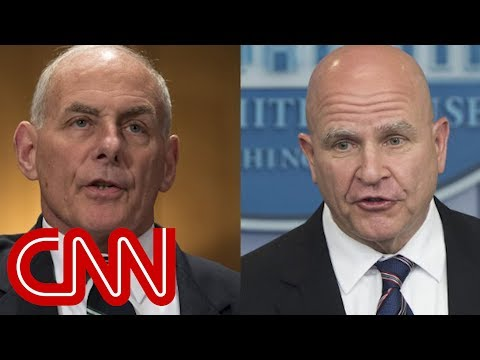 Sources: McMaster, Kelly poised to depart soon