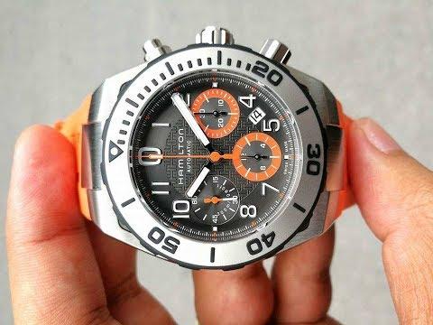 Hamilton Khaki Diver Sub Chronograph H78716983