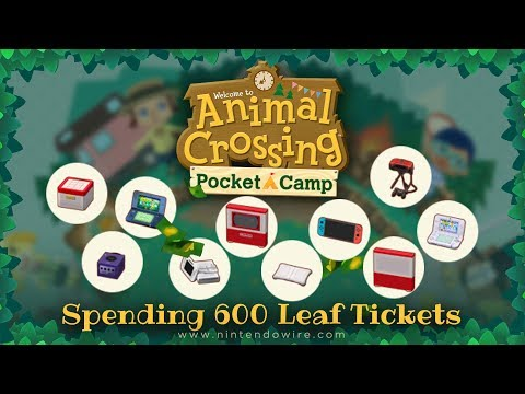 Spending 600 Leaf Tickets on Animal Crossing: Pocket Camp Fortune Cookies (Is it Worth It?)