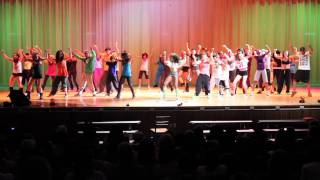 """The Professionals Dance Crew Performance, As Seen In Beyonce's """"Let's Move"""" Video"""
