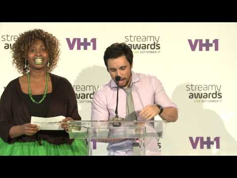 Chester See Announces Drama Nominees - Streamy Awards 2015 - 동영상