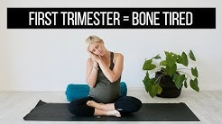 First Trimester Pregnancy Yoga for Exhaustion