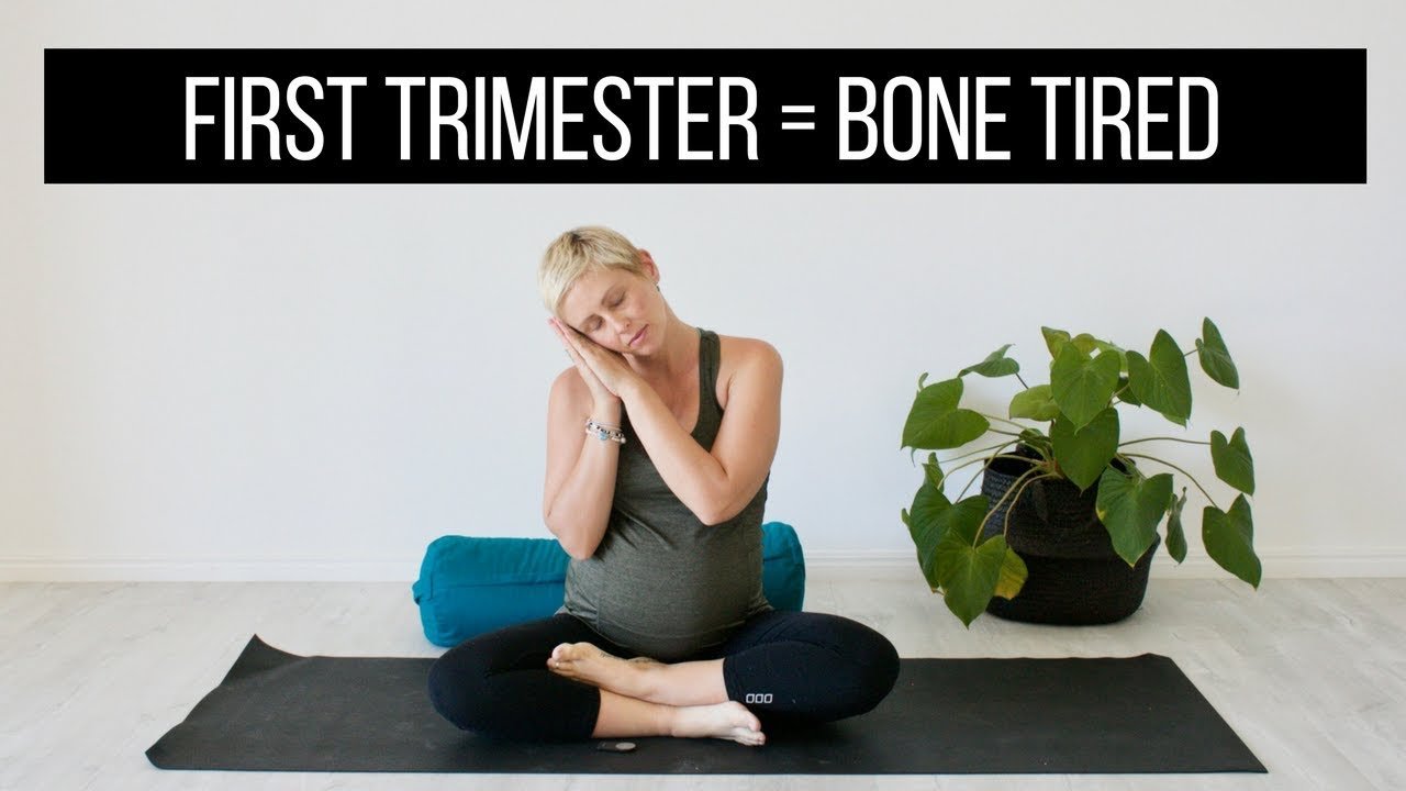 217c739289d25 First Trimester Pregnancy Yoga for Exhaustion. Bettina Rae
