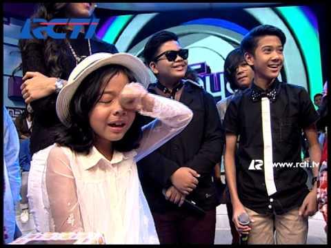 Cinta Terharu Dapat Kejutan Dari Coboy Junior - dahSyat 2 Feb 2014