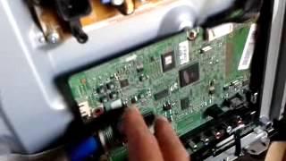 Video reparacion de una tv plasma marca Samsung Modelo PL43E490B4....