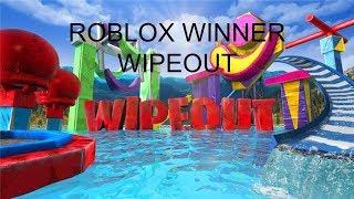 WIPE OUT ROBLOX WINNER!!!
