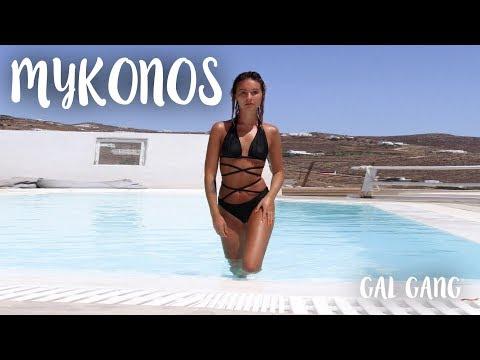 GIRLS HOLIDAY (MYKONOS VLOG + GIANT FAIL) | Talia Mar