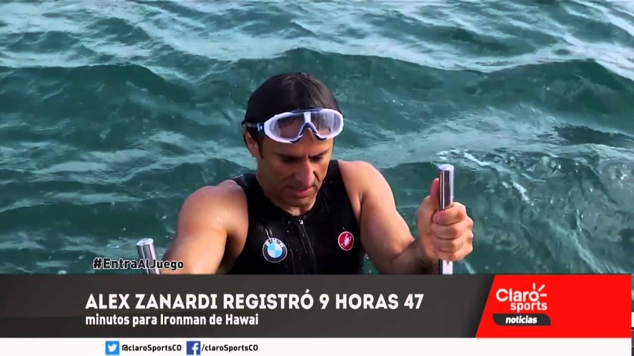 Alex Zanardi en la Ironman de Hawai - YouTube