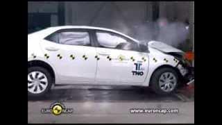 CRASH TEST Euro NCAP Toyota Corolla | 2013 | Crash Test