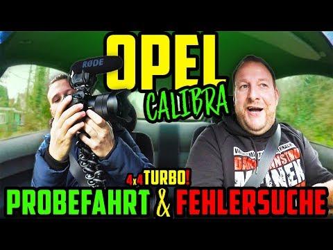 Es Geht WEITER! - Opel Calibra 4x4 TURBO! - Probefahrt & Fehlersuche!