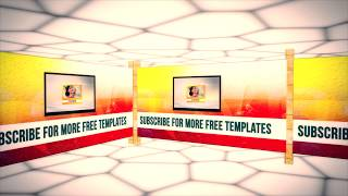 3d-virtual-studio-after-effects-template Videos - Watch and