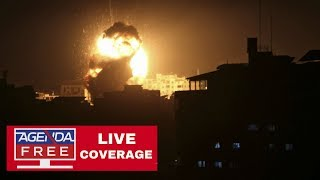 Israel Airstrikes & Gaza Rockets Continue - LIVE COVERAGE