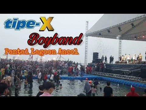 Tipe X  _ BOYBAND  Live Pantai Lagoon ANCOL