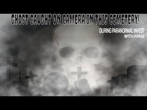 "GHOST ""CAUGHT ON CAMERA"" DURING PARANORMAL INVESTIGATION...MUST SEE!!!"
