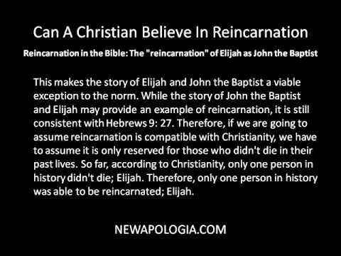 Talk Bible Reincarnation The Does About
