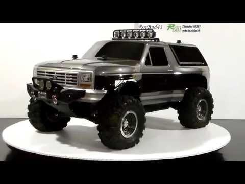 Ford Raptor Bronco >> Traxxas Slash 4x4 Trail Truck / Crawler - YouTube