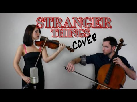 Stranger Things Theme (violin and cello cover) [+SHEETS]
