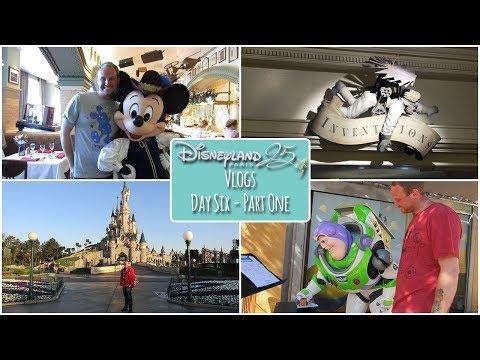 Disneyland Paris 25th Anniversary Vlogs - Day 6, Part 1 - Invention's Brunch!