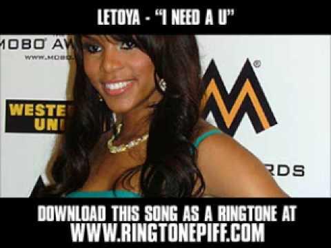 Letoya  I Need A U  New  + Download
