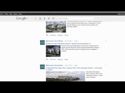 Google Plus Business Pages in Search Results