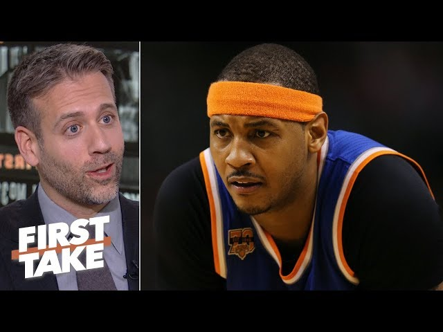 Go be the best player in China! - Max Kellerman on Melo possibly rejoining the Knicks | First Take