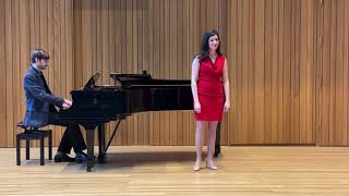 "Angela De Venuto sings ""Take me back"" from Rorem's Our Town"
