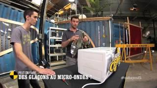 Peut-on faire des glaçons au micro-onde ? - On n