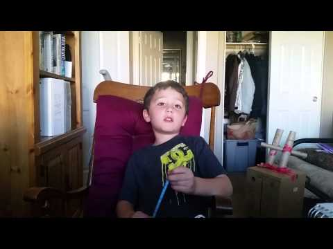 5 year old talks about manure. ..POOP