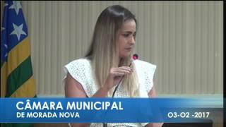 RAQUEL GIRÃO PRONUNCIAMENTO 03 02 2017