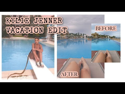 EDIT YOUR PHOTOS LIKE KYLIE JENNER | 90s AESTHETIC EDIT