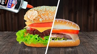 Food In Commercials Vs In Real Life