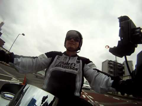 Riding My Harley in Tokyo