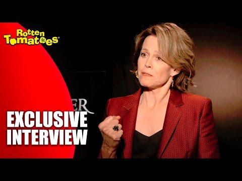What Makes Sigourney Weaver Cry at the Drop of a Hat - Exclusive 'A Monster Calls' Interview (2016)