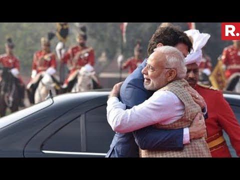 Canadian PM Justin Trudeau Meets PM Narendra Modi