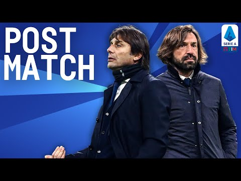 Inter 2-0 Juventus | Pirlo & Conte Post Match Press Conference | Serie A TIM