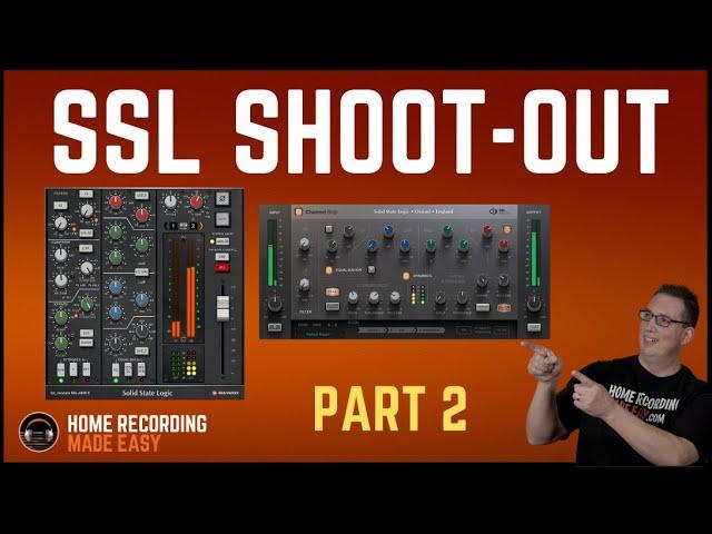 Ssl Channel Strip Shoot Out Pt 2 Solid State Logic Vs Brainworx Bx 4000e Youtube