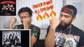 "Lil Pump ""Gucci Gang Remix"" Feat. Gucci Mane 21 Savage Bad Bunny & Ozuna ect 