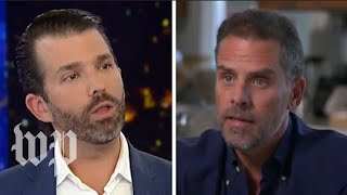 Donald Trump Jr. accuses Hunter Biden of nepotism