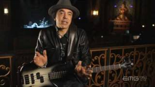 Mike Inez talks about playing bass with Alice In Chains on EMGtv