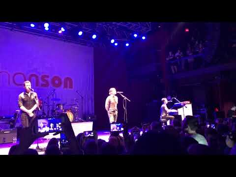 """Hanson - """"A Song to Sing"""" - Middle of Everywhere Tour, Silver Spring, MD"""
